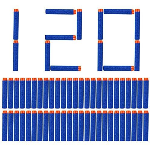 ill Bullets für N-Strike Elite, Nachfüllpack Spielzeug für draußen, Darts Pfeile für Nerf Zubehör (blau) ()