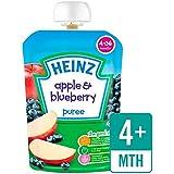 Heinz Lisser pommes et bleuets 4-36 MOIS 100g