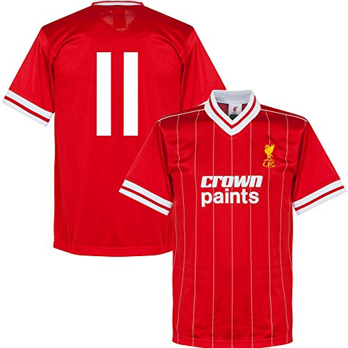 1982 Liverpool Home Retro Trikot + No.11 - XXL