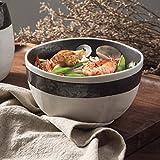 Creativo ceramiche da tavola in stile giapponese zuppa di noodle casa ciotola ciotola di riso da mangiare ciotole ciotola di riso ciotola rotonda da dessert Gruppo Set