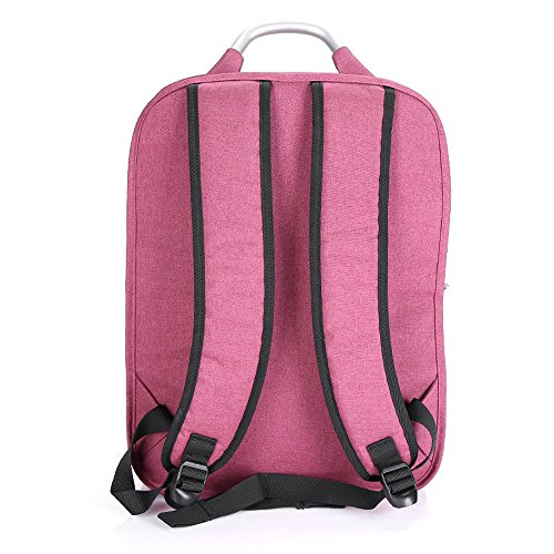 Mocha weir Taikkss Laptop Rucksack Bookbags Kinder Schule College-Reisen Laptop Rucksack (grau01) Rosa01