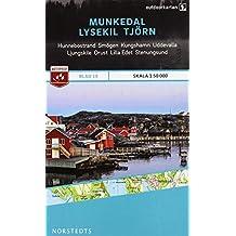 Outdoorkartan Schweden 19 Munkedal - Lysekil - Tjörn 1 : 50 000: amtliche Karte
