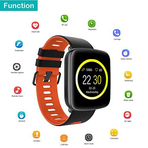 9e75689dae19 Willful Reloj inteligente con Pulsómetro