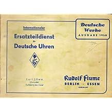 Internationaler Ersatzteildienst für deutsche Uhren.