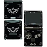 Legend of Zelda Majora's Mask Special Edition Black Silver Video Game Vinyl Decal Skin Sticker Cover for Nintendo GBA SP Gameboy Advance System by Vinyl Skin Designs