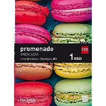 Méthode de français. 1 ESO. Promenade. Andalucía - 9788467586558