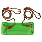 Generic Outdoor Swing Set Seat with Rope...