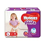 #8: Huggies Wonder Pants Large Size Diapers (50 Count)