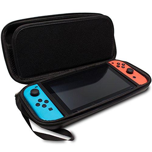 Funda para Nintendo Switch - Bolsa de goma EVA [Rígida] de CaseBase e