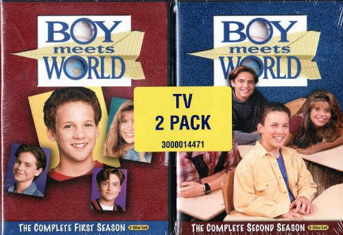 Boy Meets World LIMITED EDITION 2 Pack - The Complete First and Second Season (Season 1 and 2)