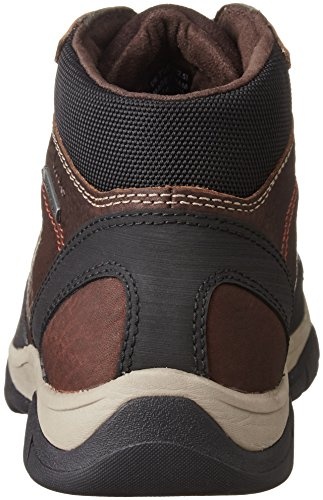 Clarks RampartOn GTX Herren Kurzschaft Stiefel Braun (Mahogany Leather)