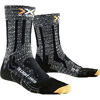 X-Socks Trekking Light Limited, Calze Uomo, Grigio/Nero, 42/44
