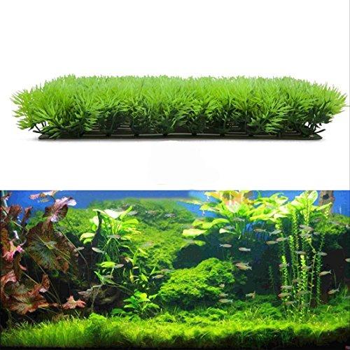 Vegetación artificial para decoración de acuario, de plástico, alta calidad.