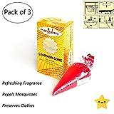 #1: Mangalam Camphor Cone / Kapoor Cone - Room Freshener, Mosquito Repellent (Pack of 3) (MANGALAM)