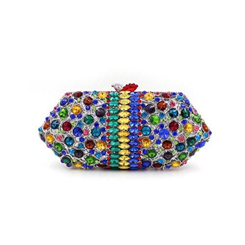 Dinner-Paket Europa und den Vereinigten Staaten Stil aristokratischen Beutelbeutelbeuteldiamant Paket Paket Farbe picture color