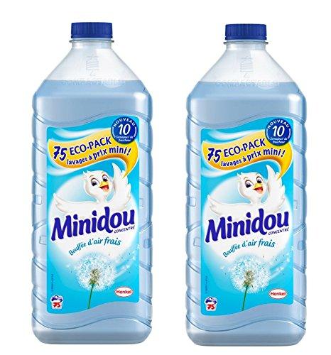 minidou-adoucissant-liquide-concentre-bouffee-dair-frais-flacon-1875-l-75-lavages-lot-de-2