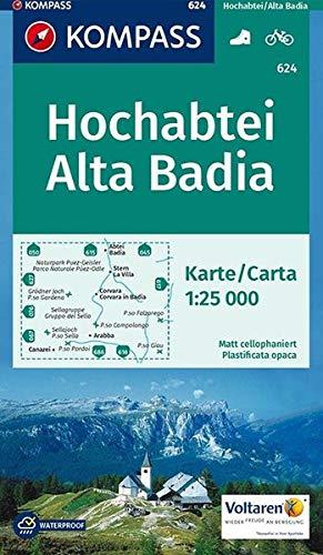 HOCHABTEI/ALTA BADIA 624  1/25.000