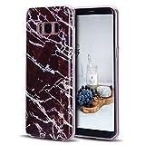 CaseLover Galaxy S8 Plus/ S8+ Hülle, TPU Weiche Silikon Handyhülle Dünne Bunte Natur Marmor Muster Gehäuse Schutzhülle Cover für Samsung Galaxy S8+ 6,2