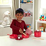 Melissa & Doug 12610 Play House-Kitchens & Play Sets, Red, 31 x 31 x 13 cm