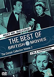 Meet Mr Malcolm & I'm A Stranger - Two Films Best Of British B Movies - The Corsair Collection: Volume 2 [DVD]