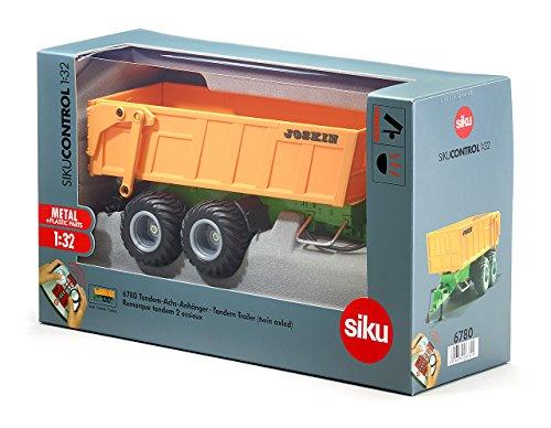 Imagen principal de SIKU 6780  - Remolque de eje doble con batería