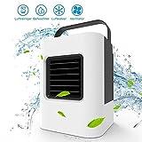 Starcrafter Luftkühler Ventilator Mini Air Cooler Mobile Klimageräte Luftkühler mit Wasserkühlung Zimmer Klimaanlage Ventilator USB Klimagerät 4 in 1 Raumluftkühler Luftreiniger
