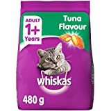 Whiskas Adult Cat Food, Tuna, 480 G K