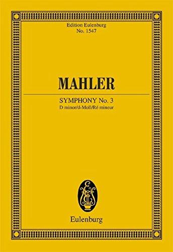Sinfonie Nr. 3 d-Moll: Orchester. Studienpartitur. (Eulenburg Studienpartituren)