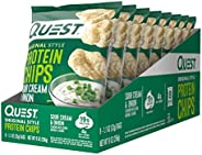 Quest Original Style Protein Chips Sour Cream and Onion, 8 X 32g - Pack of 1