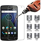 SuperdealsForTheinfinity Moto G5S Plus Screen Guard Tempered Glass Full Scratchless 2.5D Anti Glare Protector