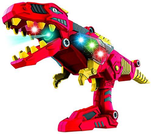 Think Gizmos Juguete Desmontable para los Niños - Construye tu Propio Kit de Juguete para niños y niñas de 3 4 5 6 7 8 + (DinoBlaster)