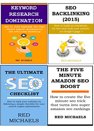 4 in 1 Search Engine Optimization (SEO) Power Boost: SEO LINKBUILDING, SEO CHECKLIST, KEYWORD RESEARCH & THE FIVE MINUTE AMAZON SEO BOOST (English Edition)