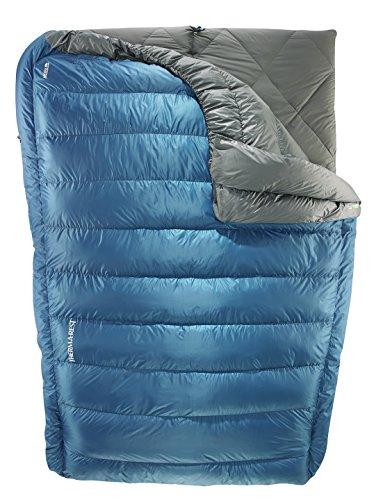Outdoor-quilt (Therm-a Vela Daune, Herren, midnight, Doppelbett)