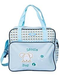 Tinny Tots Baby Diaper Bag (Blue, BAG-DNA-1-036-SKY BLUE)