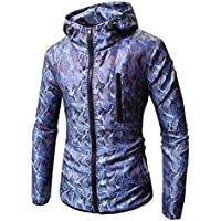 Herren Kapuzenpullover,TWBB Camouflage Cardigan Coat Hoodie Pullover Herbst Winter Lange Ärmel Mantel Outwear Sweatjacke Hemd