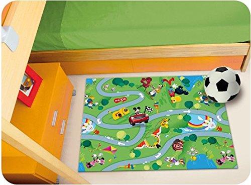 Tappeti Per Bambini Disney : Tappeto tappettino disney pvc gomma per ludoteca cameretta bambini