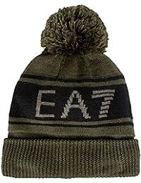 Amazon.it  Emporio Armani - Berretti in maglia   Cappelli e cappellini ... b8452623c570