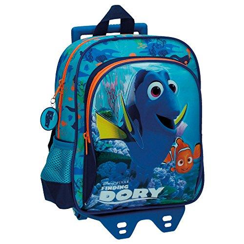 Rücksack mit Trolley Finding Dory Blau (Nach Suche Dorie)