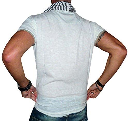 Cipo&Baxx T-Shirt Top Herren Super Optik Grössen S-M-L-XXL Beige