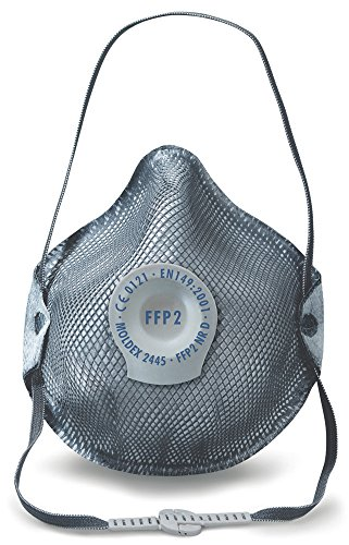 BeeSwift M2445 Moldex Maschera ffp2 V Nr D g (confezione da 10)