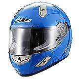 Nenki Helme NK-856Full Face Motorradhelme, ECE-geprüft, mit Doppelvisieren