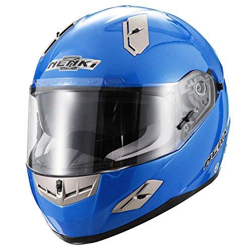 Casco-integrale-Moto-Motocicletta-Nenki-NK856-omologato-ECE-con-doppia-visiera