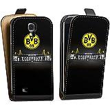 Samsung Galaxy S4 mini Tasche Hülle Flip Case Borussia Dortmund BVB Stadion
