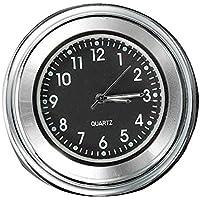 "Reloj - SODIAL(R)7/8"" 1"" Reloj impermeable de marcacion de manillar de montaje de motocicleta y de bicicleta universal"