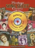 Vintage Song Sheet Covers (Dover Electronic Clip Art)
