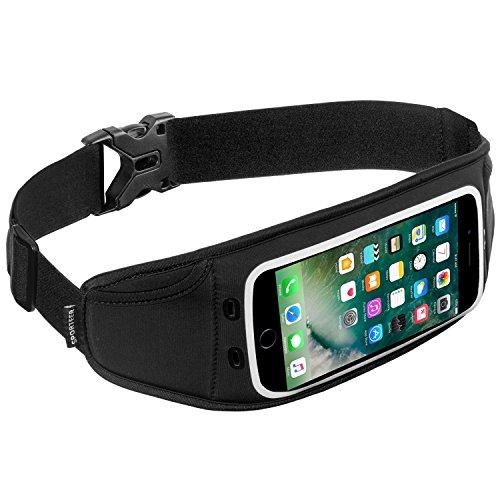 Seitliche Der Reißverschluss Gürtel (Sporteer Zephyr Laufgürtel für iPhone X, iPhone 8, 8 Plus, Galaxy Note 8, Galaxy S8, S8 Plus, S7, Pixel XL, LG V30, G6, Moto X4, Moto G5S Plus, Nexus 6P, Xperia XZ, und anderen Handys mit Fällen)