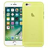 Conie Silkon Rückschale Transparent, Case Für iPhone 6 - Flexibles Cover, Druckknöpfe Rutschfest, iPhone 6s Durchsichtig Klare Schutz- Hülle