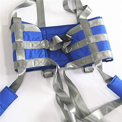 51Td8N8WX%2BL - GXJ Acolchado Aseo Paciente Levantar Honda con Cinturón, 510Lb Peso Capacidad con Antideslizante Interior Almohadilla No Paseo Arriba Mas Rapido Más Fácil Más Seguro Traslados Y Aseo Azul