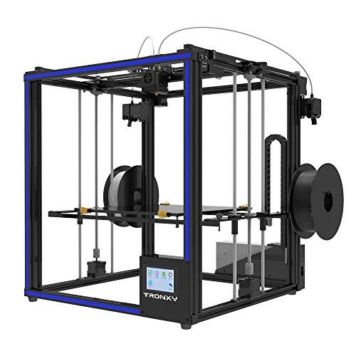 TRONXY X5ST-2E 3D-Drucker 2 in 1 Out-Extrusions-Bausatz, Filament-Sensor-Resume-Druckwürfel-Vollmetallquadrat mit 3,5-Zoll-Touchscreen Großes Druckformat 330 * 330 * 400 - 2