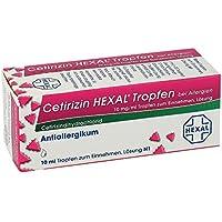 Preisvergleich für Cetirizin Hexal Tropfen b. Allergien 10 ml